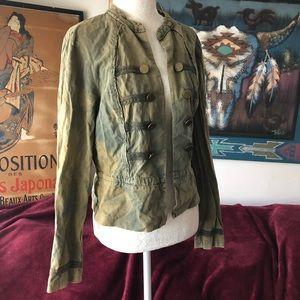 Urban Outfitters Factory Bleach Dye Jacket